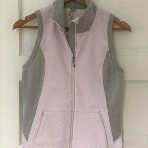 Lululemon Pink/Gray Reflective Running Vest Size 6